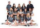 La Cueva Bears Girls Varsity Golf Spring 18-19 team photo.