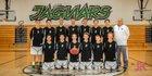 D'Evelyn Jaguars Boys Freshman Basketball Winter 16-17 team photo.