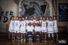 Ridge View Blazers Boys Freshman Basketball Winter 16-17 team photo.