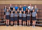 Cleveland Storm Girls Varsity Golf Spring 17-18 team photo.