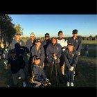 Highland Hornets Girls Varsity Golf Spring 17-18 team photo.