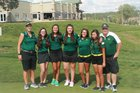 Los Alamos Hilltoppers Girls Varsity Golf Spring 17-18 team photo.