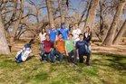 Bosque Bobcats Girls Varsity Golf Spring 17-18 team photo.