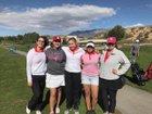 Sandia Matadors Girls Varsity Golf Spring 17-18 team photo.