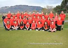 Albuquerque Academy Chargers Girls Varsity Golf Spring 17-18 team photo.