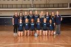 Pope Greyhounds Girls JV Volleyball Fall 19-20 team photo.