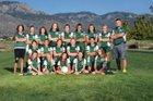 Hope Christian Huskies Girls JV Soccer Fall 17-18 team photo.