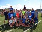 Cedaredge Bruins Boys Varsity Track & Field Spring 13-14 team photo.