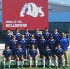 Las Cruces Bulldawgs Boys JV Soccer Fall 18-19 team photo.