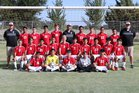 Roswell Coyotes Boys JV Soccer Fall 18-19 team photo.