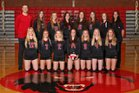 Coupeville Wolves Girls Varsity Volleyball Fall 16-17 team photo.