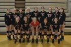 Cardinal Newman Cardinals Girls Varsity Volleyball Fall 16-17 team photo.