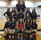 Rivera Raiders Girls Varsity Volleyball Fall 16-17 team photo.