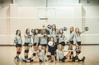 Coosa Eagles Girls Varsity Volleyball Fall 16-17 team photo.