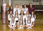 Potosi Chieftains Girls Varsity Volleyball Fall 16-17 team photo.