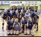Granada Hills Charter Highlanders Girls Varsity Volleyball Fall 16-17 team photo.