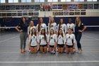 Baytown Christian Bulldogs Girls Varsity Volleyball Fall 16-17 team photo.