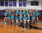 Cox Mill Chargers Girls Varsity Volleyball Fall 16-17 team photo.