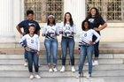 Paris Wildcats Girls Varsity Volleyball Fall 16-17 team photo.