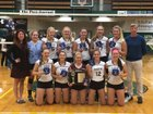 Eden Raiders Girls Varsity Volleyball Fall 16-17 team photo.
