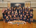 Rogers Heritage War Eagles Girls Varsity Volleyball Fall 16-17 team photo.