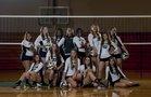 Lake Placid Dragons Girls Varsity Volleyball Fall 16-17 team photo.