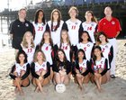 Verdugo Hills Dons Girls Varsity Volleyball Fall 16-17 team photo.