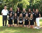 North Florida Christian Eagles Girls Varsity Volleyball Fall 16-17 team photo.