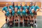 Sunlake Seahawks Girls Varsity Volleyball Fall 16-17 team photo.