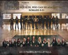 Franklin Lions Girls Varsity Volleyball Fall 16-17 team photo.