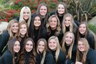 Temecula Valley Golden Bears Girls Varsity Volleyball Fall 16-17 team photo.