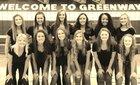 Greenway Demons Girls Varsity Volleyball Fall 16-17 team photo.