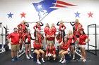 Heritage Patriots Girls Varsity Volleyball Fall 16-17 team photo.