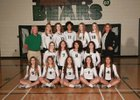Basha Bears Girls Varsity Volleyball Fall 16-17 team photo.