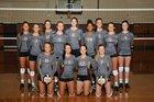 Brebeuf Jesuit Preparatory Braves Girls Varsity Volleyball Fall 16-17 team photo.