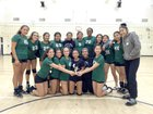 Eagle Rock Eagles Girls Varsity Volleyball Fall 16-17 team photo.