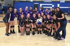 Timber Creek Falcons Girls Varsity Volleyball Fall 16-17 team photo.