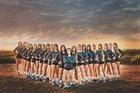 Chaparral Pumas Girls Varsity Volleyball Fall 16-17 team photo.