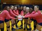 Omaha Northwest Huskies Girls Varsity Volleyball Fall 16-17 team photo.