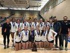 Menlo School Knights Girls Varsity Volleyball Fall 16-17 team photo.