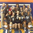 Maclay Marauders Girls Varsity Volleyball Fall 16-17 team photo.