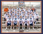 Olathe East Hawks Boys JV Lacrosse Spring 16-17 team photo.