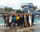 Contreras Cobras Boys JV Swimming Spring 16-17 team photo.