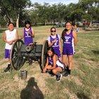 Mescalero Apache Chiefs Boys Varsity Cross Country Fall 18-19 team photo.