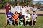 Hope Christian Huskies Boys Varsity Cross Country Fall 18-19 team photo.