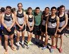 Piedra Vista Panthers Boys Varsity Cross Country Fall 18-19 team photo.