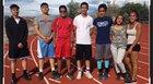 Capital Jaguars Boys Varsity Cross Country Fall 18-19 team photo.