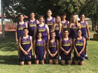 Tucumcari Rattlers Boys Varsity Cross Country Fall 18-19 team photo.