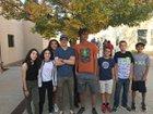 Desert Academy Wildcats Boys Varsity Cross Country Fall 18-19 team photo.