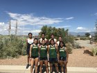 Atrisco Heritage Academy Jaguars Boys Varsity Cross Country Fall 18-19 team photo.